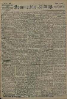 Pommersche Zeitung : organ für Politik und Provinzial-Interessen. 1908 Nr. 37