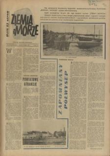 Ziemia i Morze : tygodnik społeczno-kulturalny. R.2, 1957 nr 24/25
