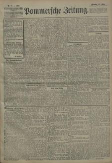 Pommersche Zeitung : organ für Politik und Provinzial-Interessen. 1908 Nr. 98 Blatt 1