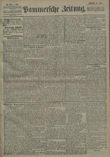 Pommersche Zeitung : organ für Politik und Provinzial-Interessen. 1908 Nr. 116 Blatt 1