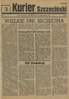 Kurier Szczeciński. R.1, 1945 nr 1
