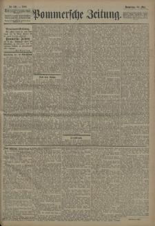 Pommersche Zeitung : organ für Politik und Provinzial-Interessen. 1908 Nr. 127 Blatt 1