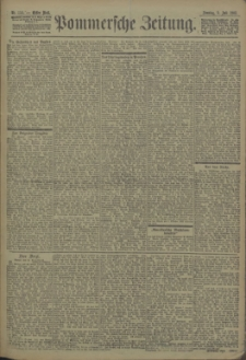 Pommersche Zeitung : organ für Politik und Provinzial-Interessen. 1903 Nr. 156