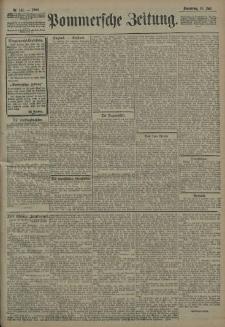 Pommersche Zeitung : organ für Politik und Provinzial-Interessen. 1908 Nr. 154