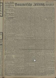 Pommersche Zeitung : organ für Politik und Provinzial-Interessen. 1908 Nr. 179
