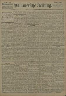 Pommersche Zeitung : organ für Politik und Provinzial-Interessen. 1908 Nr. 231