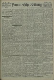 Pommersche Zeitung : organ für Politik und Provinzial-Interessen. 1903 Nr. 199