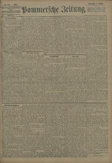 Pommersche Zeitung : organ für Politik und Provinzial-Interessen. 1908 Nr. 240 Blatt 1