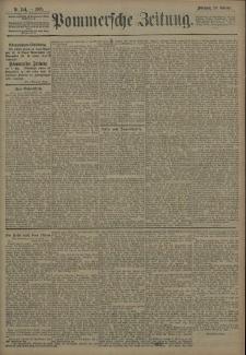 Pommersche Zeitung : organ für Politik und Provinzial-Interessen. 1908 Nr. 262