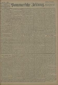 Pommersche Zeitung : organ für Politik und Provinzial-Interessen. 1908 Nr. 267