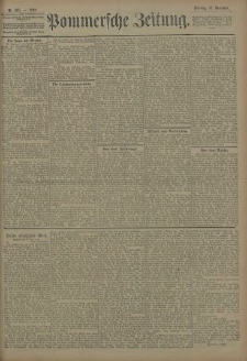 Pommersche Zeitung : organ für Politik und Provinzial-Interessen. 1908 Nr. 281 Blatt 2