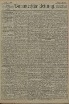 Pommersche Zeitung : organ für Politik und Provinzial-Interessen. 1908 Nr. 306