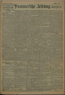 Pommersche Zeitung : organ für Politik und Provinzial-Interessen. 1909 Nr. 152