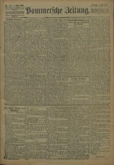 Pommersche Zeitung : organ für Politik und Provinzial-Interessen. 1909 Nr. 154 Blatt 1