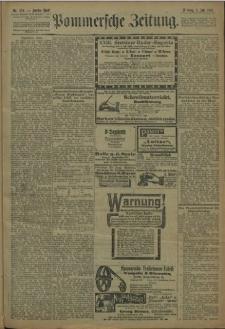 Pommersche Zeitung : organ für Politik und Provinzial-Interessen. 1909 Nr. 154 Blatt 2