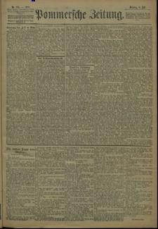 Pommersche Zeitung : organ für Politik und Provinzial-Interessen. 1909 Nr. 155