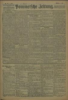 Pommersche Zeitung : organ für Politik und Provinzial-Interessen. 1909 Nr. 156