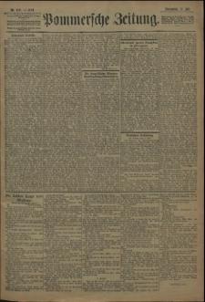 Pommersche Zeitung : organ für Politik und Provinzial-Interessen. 1909 Nr. 160 Blatt 1