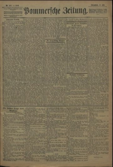 Pommersche Zeitung : organ für Politik und Provinzial-Interessen. 1909 Nr. 160 Blatt 2