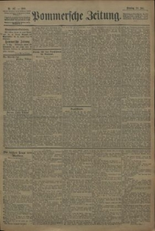 Pommersche Zeitung : organ für Politik und Provinzial-Interessen. 1909 Nr. 167