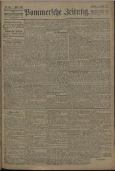 Pommersche Zeitung : organ für Politik und Provinzial-Interessen. 1909 Nr. 172 Blatt 2
