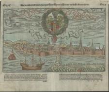 Der herzlichen und weitberhümpten Statt Stettin in Pomern warhaffte abcontrafactur