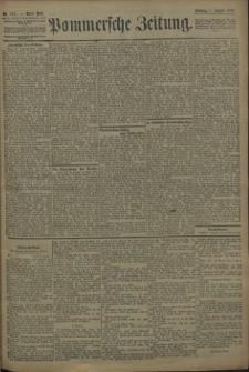 Pommersche Zeitung : organ für Politik und Provinzial-Interessen. 1909 Nr. 184 Blatt 1