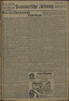 Pommersche Zeitung : organ für Politik und Provinzial-Interessen. 1909 Nr. 184 Blatt 2