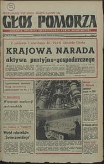 Głos Pomorza. 1977, styczeń, nr 15
