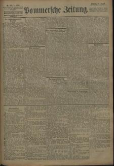 Pommersche Zeitung : organ für Politik und Provinzial-Interessen. 1909 Nr. 187