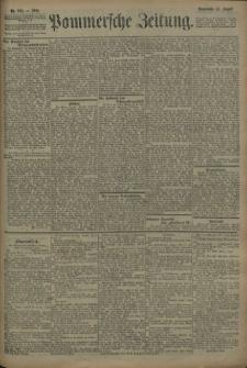 Pommersche Zeitung : organ für Politik und Provinzial-Interessen. 1909 Nr. 189