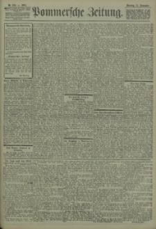 Pommersche Zeitung : organ für Politik und Provinzial-Interessen. 1903 Nr. 233 Blatt 1