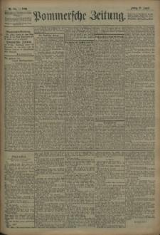 Pommersche Zeitung : organ für Politik und Provinzial-Interessen. 1909 Nr. 208 Blatt 1