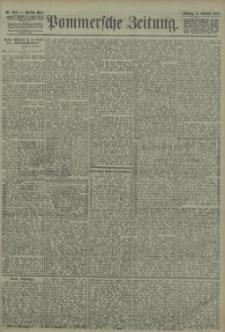 Pommersche Zeitung : organ für Politik und Provinzial-Interessen. 1903 Nr. 238