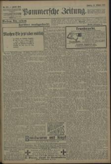 Pommersche Zeitung : organ für Politik und Provinzial-Interessen. 1909 Nr. 245