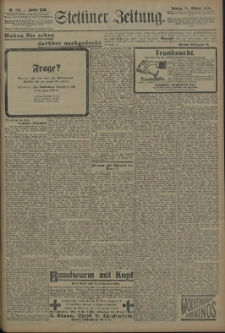 Pommersche Zeitung : organ für Politik und Provinzial-Interessen. 1909 Nr. 251