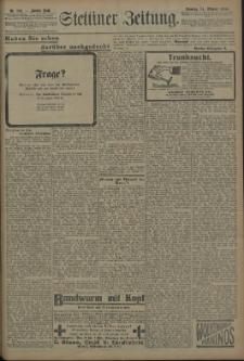 Pommersche Zeitung : organ für Politik und Provinzial-Interessen. 1909 Nr. 256 Blatt 1