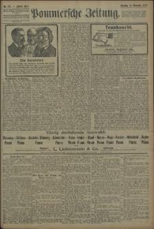 Pommersche Zeitung : organ für Politik und Provinzial-Interessen. 1909 Nr. 271