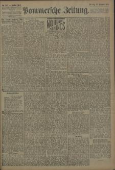 Pommersche Zeitung : organ für Politik und Provinzial-Interessen. 1909 Nr. 288