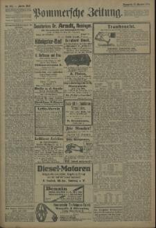 Pommersche Zeitung : organ für Politik und Provinzial-Interessen. 1909 Nr. 302 Blatt 1