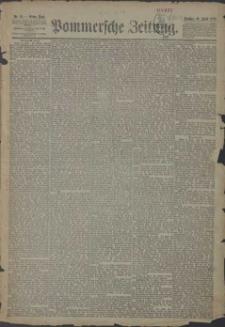 Pommersche Zeitung : organ für Politik und Provinzial-Interessen. 1889 Nr. 158 Blatt 1