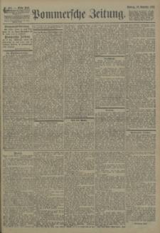 Pommersche Zeitung : organ für Politik und Provinzial-Interessen. 1903 Nr. 280 Blatt 1