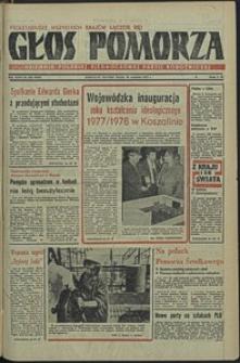 Głos Pomorza. 1977, wrzesień, nr 222