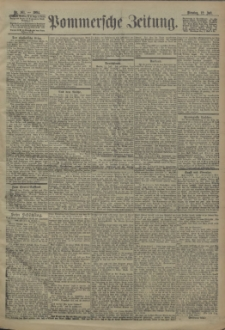 Pommersche Zeitung : organ für Politik und Provinzial-Interessen. 1904 Nr. 161