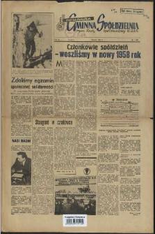 Szczecińska Gminna Spółdzielnia. R.2, 1958 nr 1 (13)