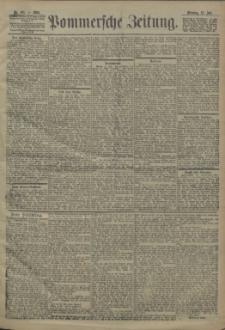 Pommersche Zeitung : organ für Politik und Provinzial-Interessen. 1904 Nr. 166 Blatt 1