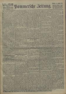 Pommersche Zeitung : organ für Politik und Provinzial-Interessen. 1904 Nr. 191