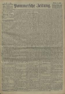 Pommersche Zeitung : organ für Politik und Provinzial-Interessen. 1904 Nr. 197
