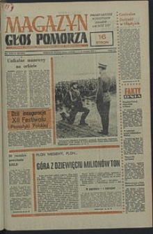Głos Pomorza. 1978, wrzesień, nr 206