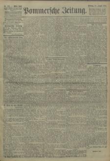 Pommersche Zeitung : organ für Politik und Provinzial-Interessen. 1904 Nr. 207